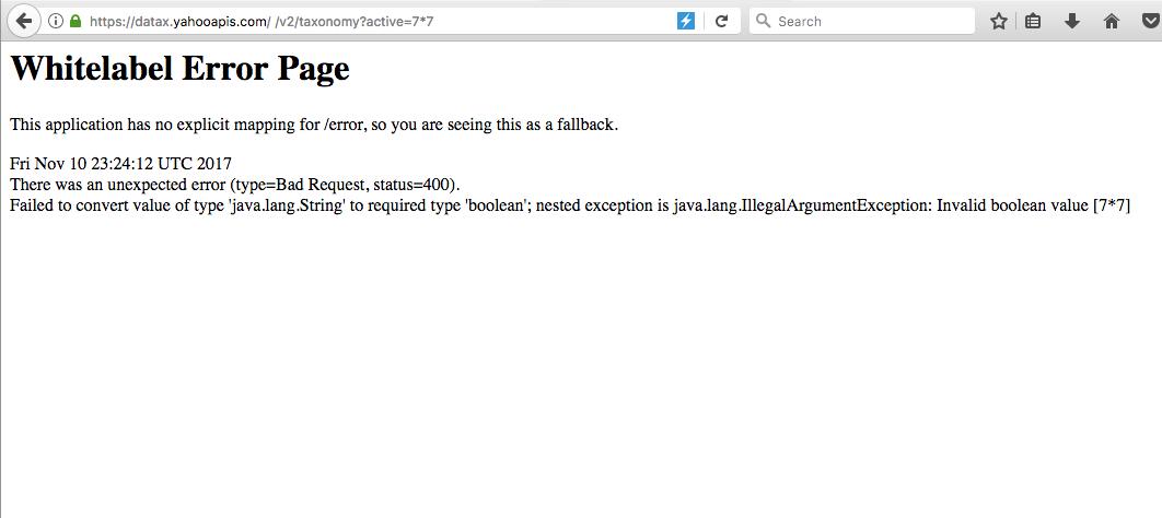 Yahoo! RCE via Spring Engine SSTI – ∞ Growing Web Security Blog